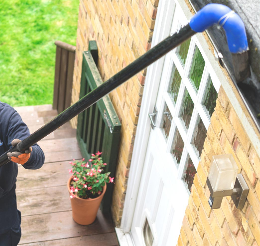 gutter cleaning pole