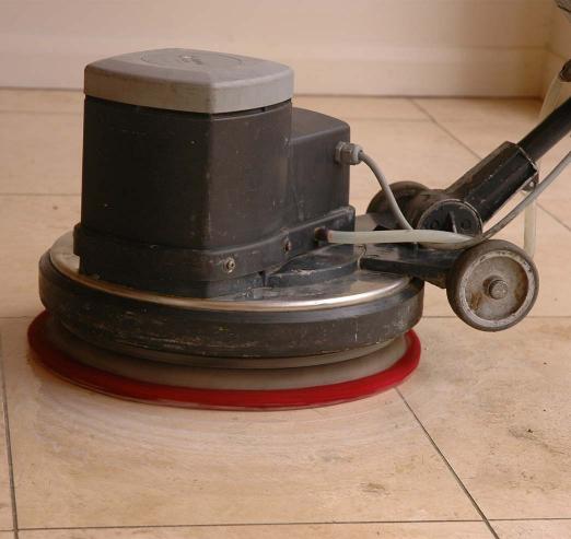 hard floor cleaning machine