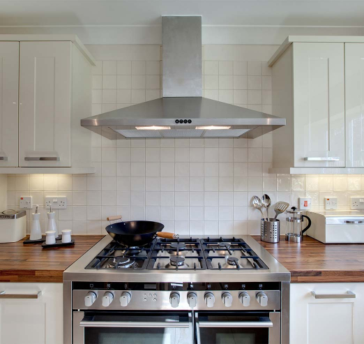kitchen in a holiday rental property