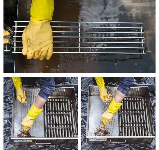 dip tank bbq cleaning