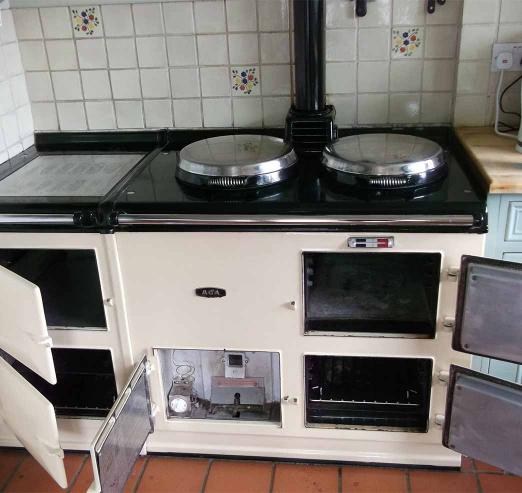 White-Aga-Cooker